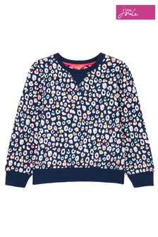 Joules Blue Nellie Animal Sweat Top