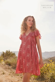 Savannah Miller Sparkle Trim Dress