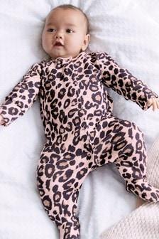 חליפת פיג'מה עם הדפס (0 חודשים עד גיל 2)