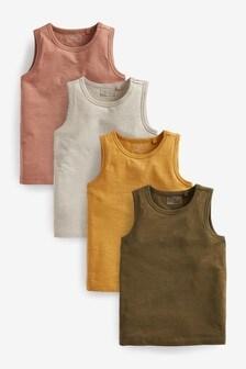 4 Pack Vests (3-16yrs)