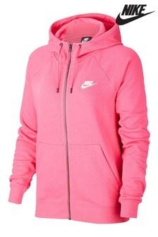 Nike Essential Fleece Zip Through Hoody