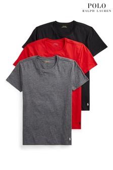 Polo Ralph Lauren Short Sleeved Crew-Neck T-Shirts 3 Pack