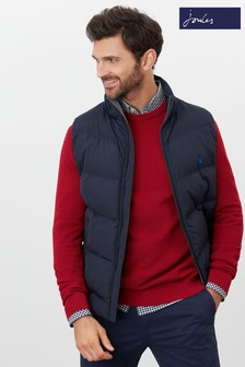 Joules Loche Barrel Gilet with Printed Lining
