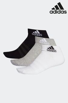 adidas成人短襪3雙裝
