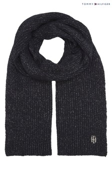 Tommy Hilfiger Blue Effortless Scarf