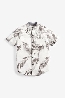 Print Short Sleeve Shirt (3-16yrs)