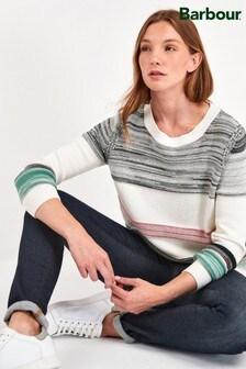 סוודר שלBarbour® דגםDeepsea עם פסים בצבעים שונים