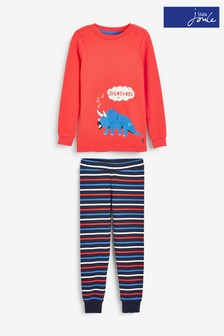 Joules Snooze Schlafanzugset, rot