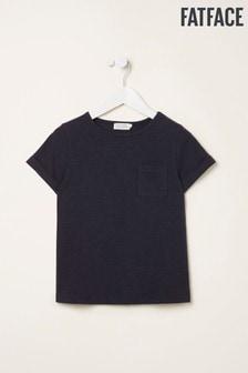 Modré tričko FatFace s krátkymi rukávmi