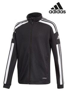 Черный спортивный топ adidas Squad 21