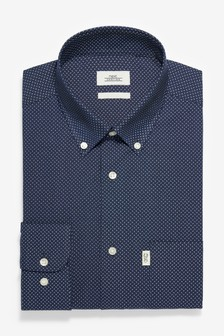 Easy Iron Button Down Oxford Shirt