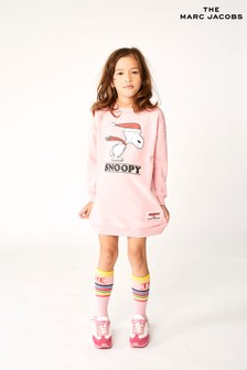 فستان سويتر Snoopy وردي من The Marc Jacobs
