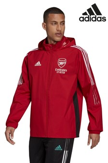 Adidas Red Arsenal All Weather Jacket (383622) | $97
