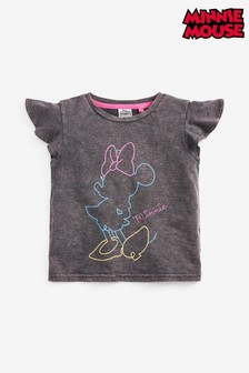 Minnie Mouse™ Licence Neon Print T-Shirt (3-16yrs)