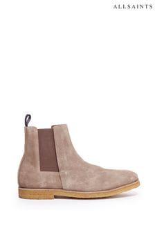 AllSaints Rhett Chelsea Suede Boots