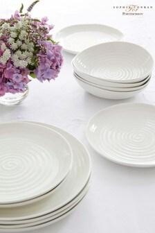 12 Piece Portmeirion White Sophie Conran Dinner Set