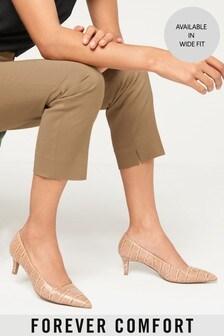 Forever Comfort® Kitten Heel Court Shoes