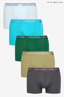 Lot de 5 boxers Tommy Hilfiger Premiumbleus essentiels
