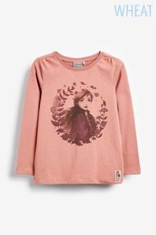 Wheat Anna Leaves T-Shirt