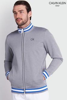 Calvin Klein Golf Grey Thomson Full Zip Top (385915)   $97
