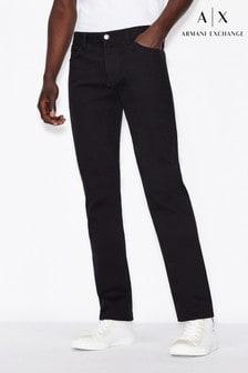 Armani Exchange Mens Regular Fit Jeans