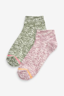 Thermal Trainer Socks Two Pack