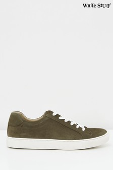 White Stuff Suede Trainers