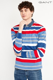GANT Schweres, robustes Polohemd mit mehreren Streifen