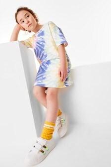 فستان تي شيرت (3-16 سنة)