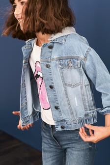 Hooded Denim Jacket (3-16yrs)