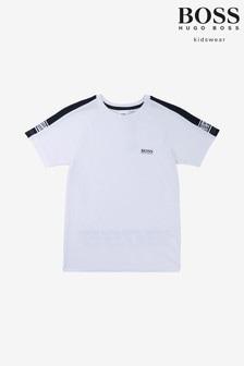 Biele tričko BOSS