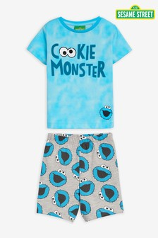بيجاما شورت Cookie Monster  (12 شهرًا - 8 سنوات)