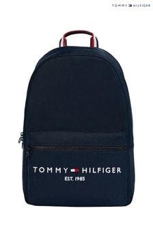 Tommy Hilfiger藍色TH Established背囊