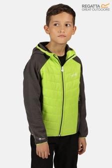 Regatta Green Kielder Hybrid Iv Full Zip Baffle Jacket