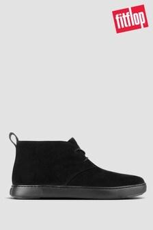 FitFlop™ Black Zackery Suede Desert Boots