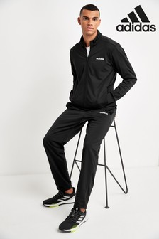 adidas Black Basics Team Sports Tracksuit