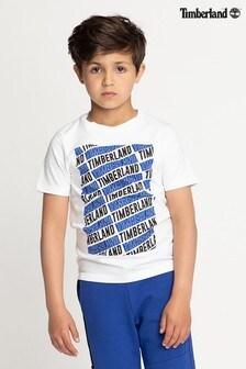 Bielo-modré tričko Timberland®