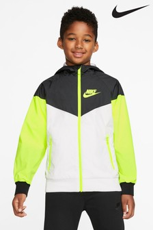 Nike - Windrunner - Giacca a vento bianca