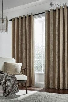 Helena Springfield Natural Roma Eyelet Curtains