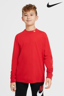 Nike Red Long Sleeve T-Shirt