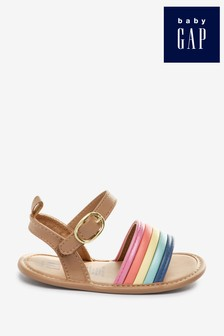 Gap Baby Rainbow Strappy Sandals