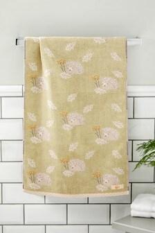 Green Hettie The Hedgehog Towel