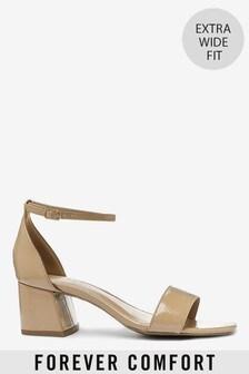 Forever Comfort® Schlichte Sandalen mit Blockabsatz
