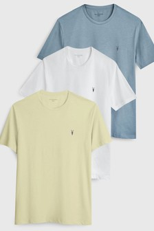 AllSaints Tonic Short Sleeved T-Shirts Three Pack