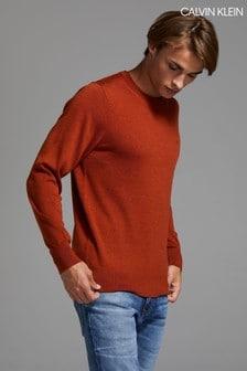 Calvin Klein Brown Superior Wool Sweater