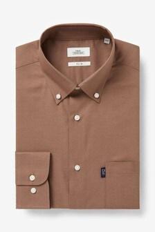 Easy Iron Button Down Oxford Shirt