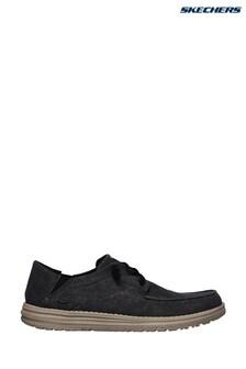 Skechers® Black Melson Volgo Shoes