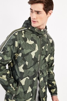 Armani Exchange Camo Zip Jacket
