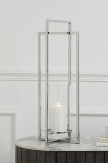 Large Luxe Metal Lantern