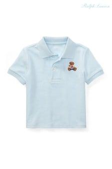 قميص بولو Bear أزرق من Ralph Lauren